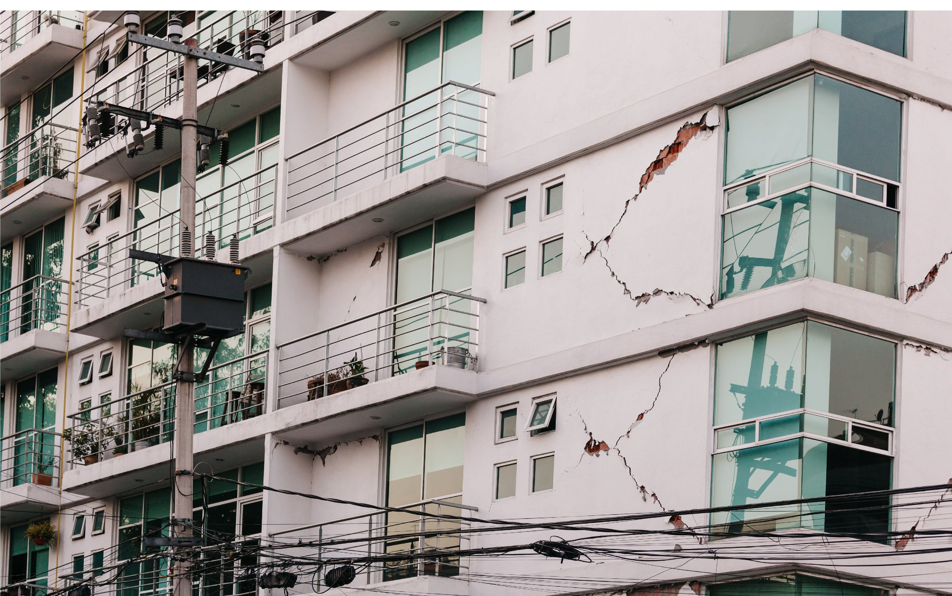 Earthquake damage to Condos are a serious threat